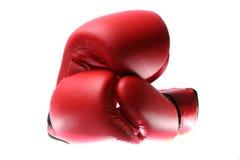 Gants de boxe rouges Image stock