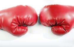 gants de boxe rouges photographie stock