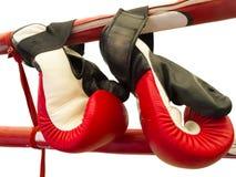 Gants de boxe thaïlandais de Muay Images libres de droits