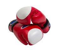 Gants de boxeur Photos stock