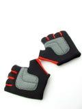gants de forme physique Photos libres de droits