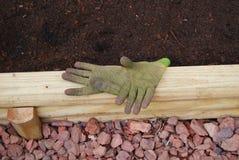 Gants de jardinage Image libre de droits