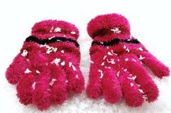 Gants de l'hiver photos stock