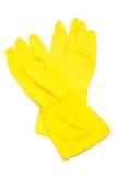 gants en caoutchouc photo stock
