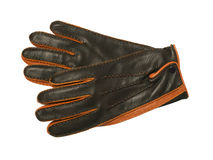 Gants en cuir photos stock