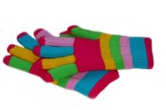 Gants multicolores Photographie stock