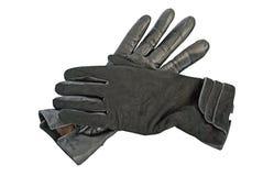 Gants noirs. photo libre de droits