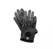 Gants noirs Photographie stock