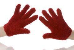 Gants rouges photographie stock