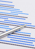 Gantt chart Stock Photography