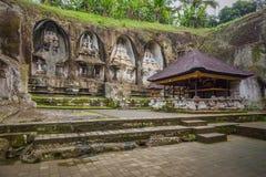 Ganung Kawi świątynia Gunung Kawi jest świątynnym kompleksem zdjęcia stock