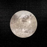 Ganymede行星- 3D回报 库存图片