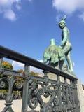Ganymede statua Zurich Szwajcaria Obrazy Stock
