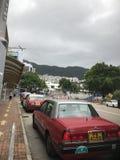 Ganz über Hong Kong Lizenzfreie Stockbilder