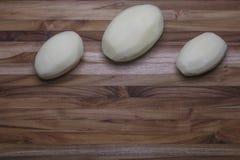 Ganze Idaho-Kartoffeln Stockbilder