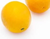 Ganze Orangen stockbild