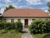 Ganzer-Pfarrhaus Stock Photo