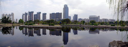 GanZhou city,china. GanZhou cityï¼›The central region of Chinaï¼›the developing;the modern city stock photos