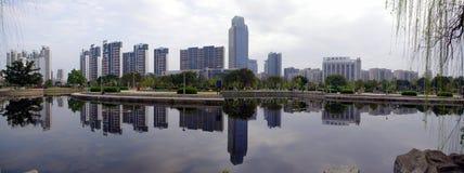Ganzhou-Stadt, Porzellan Stockfotos