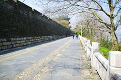 GanZhou city wall. GanZhou city ancient castle :more than one thousand history Royalty Free Stock Image