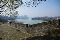 GanZhou city wall. More than one thousand history Royalty Free Stock Images