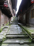 Gao miao miasteczko w Sichuan, porcelana fotografia stock