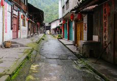 Gao miao town in sichuan,china Stock Images