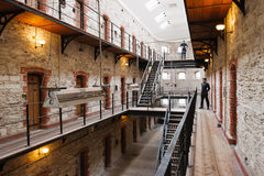 Gaol da cidade. Cortiça, Ireland Foto de Stock