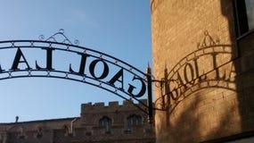 Gaol  Lane Royalty Free Stock Image