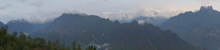 The Gaoligong mountains Stock Photography