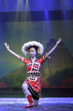 Gaoshan ethnicity dancer Royalty Free Stock Images