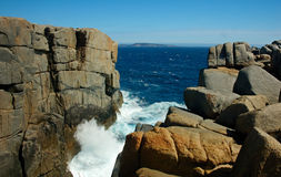 The Gap. Albany, Western Australia royalty free stock images