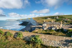 Gap Birling dans le Sussex photos stock
