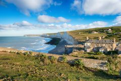 Gap Birling dans le Sussex est photos stock