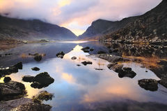 Gap Of Dunloe. Early morning in the kerry mountains Stock Images