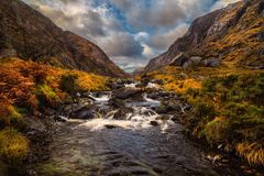 The gap of Dunloe Stock Image