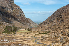 Gap of Dunloe Ireland. Gap of Dunloe in Kerry,Ireland Royalty Free Stock Photos