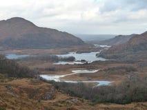 Gap of Dunloe landscape in Killarney County Kerry Ireland. The Gap of Dunloe landscape in Killarney County Kerry Ireland Stock Photo
