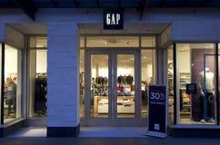 Gap fashion store Stock Photos