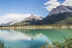 The Gap lake and the mountain Royalty Free Stock Photography