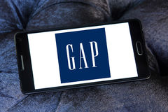 Gap-Logo Lizenzfreie Stockfotos