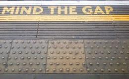 gap meningen Royaltyfri Fotografi