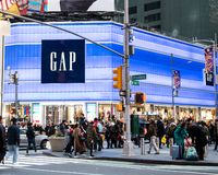 Gap store frontage royalty free stock photos