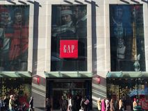GAP store in New York Royalty Free Stock Photo