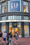 Gap store Royalty Free Stock Photography