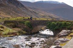 Gap von Dunloe, Land Kerry, Irland Lizenzfreie Stockfotos