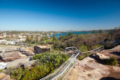 The Gap  - Watsons Bay. This image shows Watsons Bay, a suburb of Sydney, Australia Stock Photos