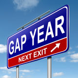 Gap year concept. Stock Photo