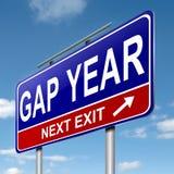 Gap year concept. Stock Photo