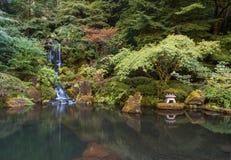 Gapanese-Garten Stockfoto